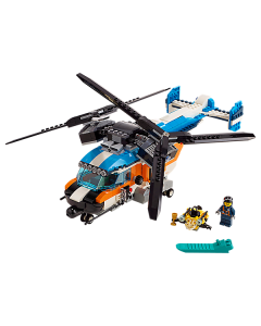 31096 Dubbel-rotor helikopter