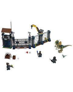 75931 Aanval op de uitkijktoren van Dilophosaurus