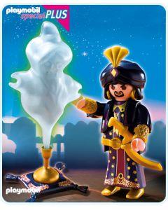 5295 Magiër met geest in de fles