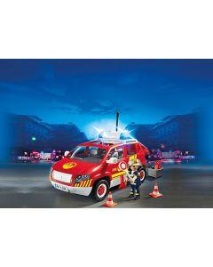 5364 Brandweercommandant met dienstwagen