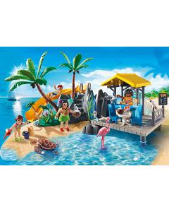 6979 Vakantie-eiland met strandbar