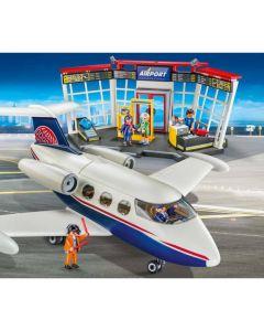 70114 Luchthaven en vliegtuig