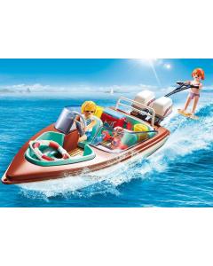 9428 Motorboot met onderwatermotor